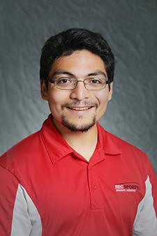 Erik Estrada, Facilities Graduate Assistant